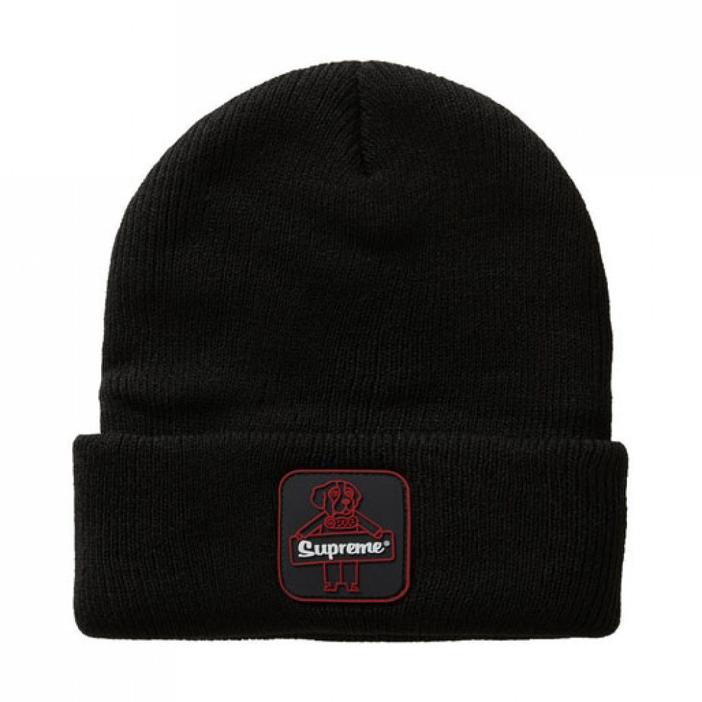 Supreme Refrigiwear Beanie (Black)